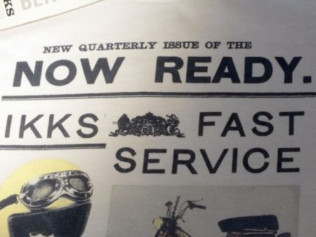 """...Quarterly Issue of the Now Ready"""