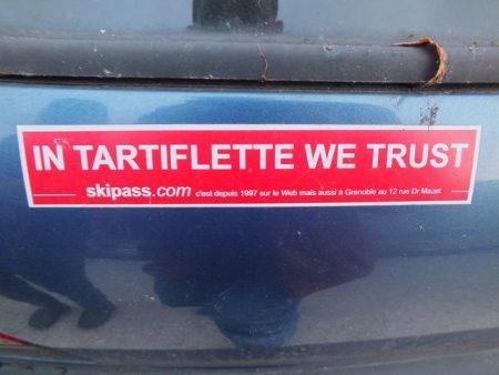 In Tartiflette we Trust