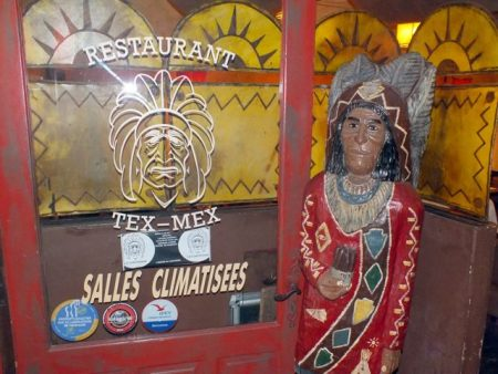 """Restaurant Tex Mex""; but native Americans are neither Tex nor Mex"