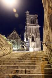Place de l'église, Clamecy