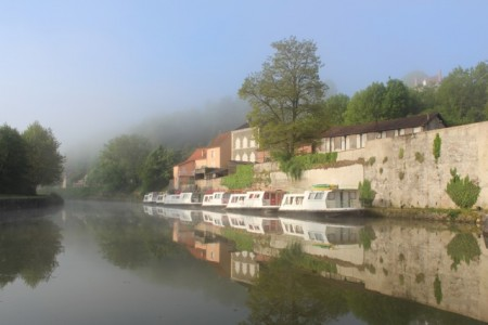 Misty morning in Clamecy