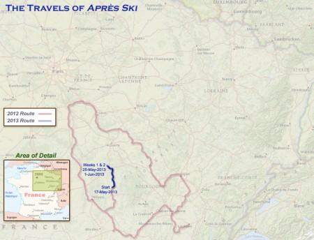 France 2013 Week 2 Route