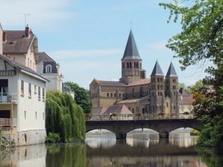 11th Century Basilica in Paray-le-Monial