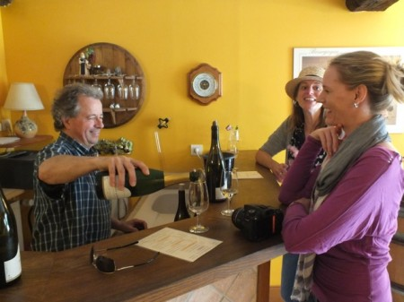 Tasting with vintner Jean-Claude Brelière