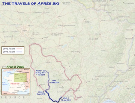 France 2013 -Week 4 Route