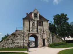The east gate in Auxonne