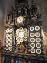 Astronomical clock in Cathédral St-Jean