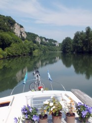 Cruising on the Doubs River