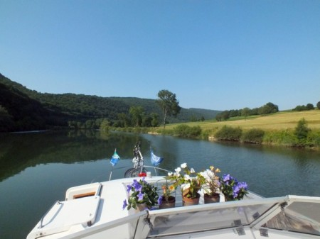 More amazing scenery on the Doubs River