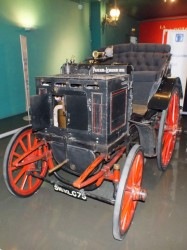 "The first ""production"" car, not a Ford but a Panhard & Levassor from 1892"