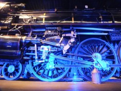 A 20th century steam locomotive