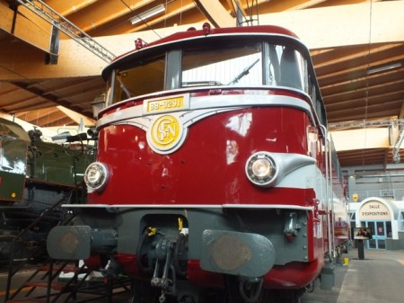 A VW minibus? No, an electric locomotive from the 1960's