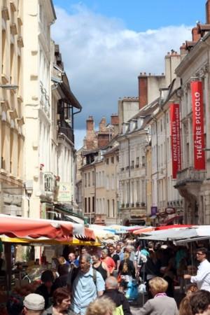 Market in Chalon-sur-Saône