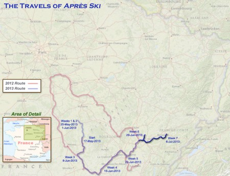 France 2013 - Week7 Route
