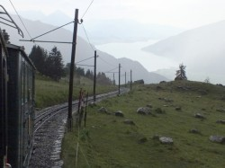 Schynige Platte cog train
