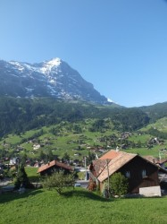 View from the Grindelwald train