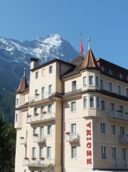 A hotel in Grindelwald.