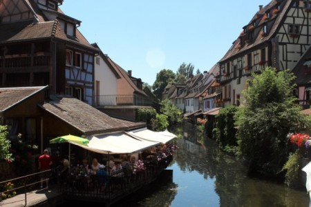 The old center of Colmar