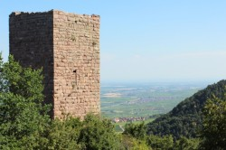 "The ""Weckmund"" tower of les Trois Château"