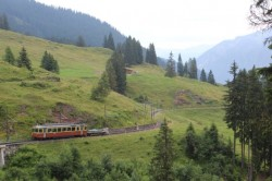 The Grütschalp-to-Mürren railway