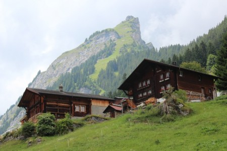 Houses in Gimmelwald