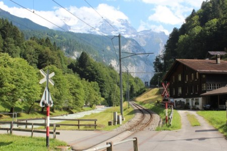 The little railway to Lauterbrunnen