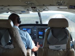 Nick, our pilot with Watermakers Air