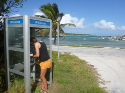 Modern communications at Little Farmer's Cay