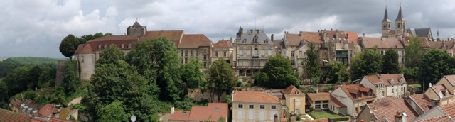 Chaumont skyline