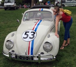"Heather with ""Herbie"""