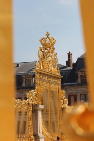 The front gate - tasteful, without being gaudy