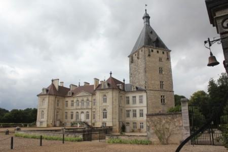 Chateau de Talmay, near where we turned off the Saone River