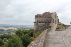 A portion of Langres' intact ramparts