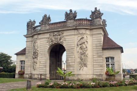 One of the old city gates in Vitry-le-François