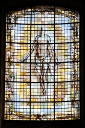 Fascinating stained glass in Vitry