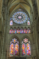 Magnificent stained glass