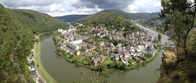 The Meuse River above Bogny-sur-Meuse