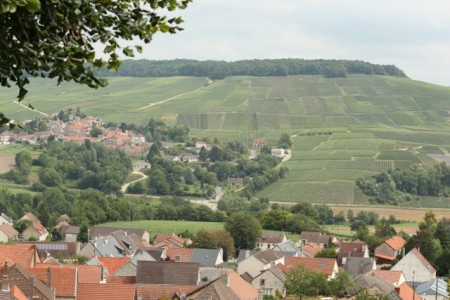 View from Châtillon-sur-Marne