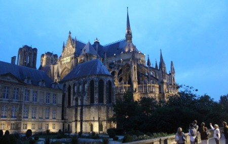 Evening tour of Reims