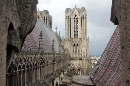 Reims Cathedral roof