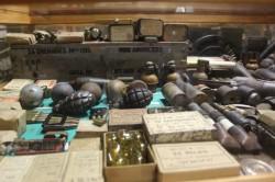 Hand grenades from WW II