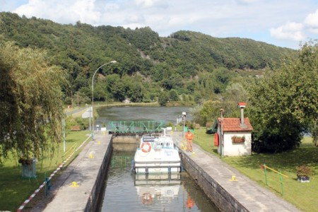 A lock on the Meuse River