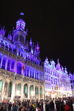 Sound-and-light show, Brussels