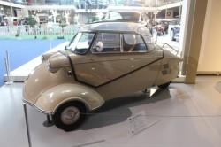 A Messerschmitt 3-wheeled car
