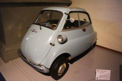 A BMW Isetta from 1965