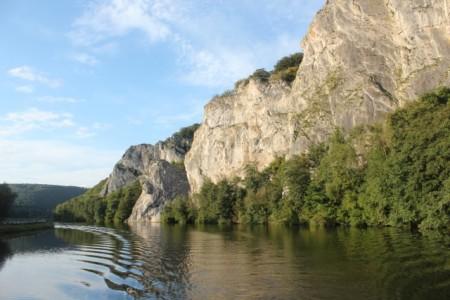Meuse River near Waulsort