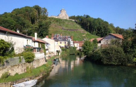 Dun-sur-Meuse and its fortified hilltop church