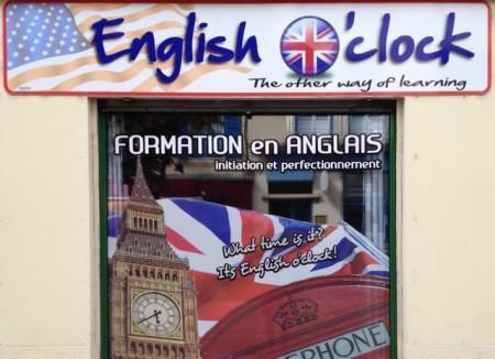 An English-language school