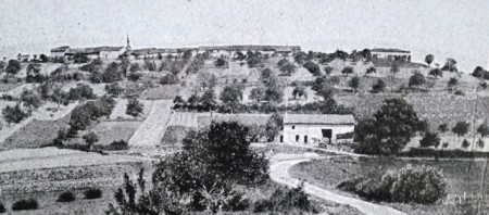 Butte de Vauquois village not long before WW I