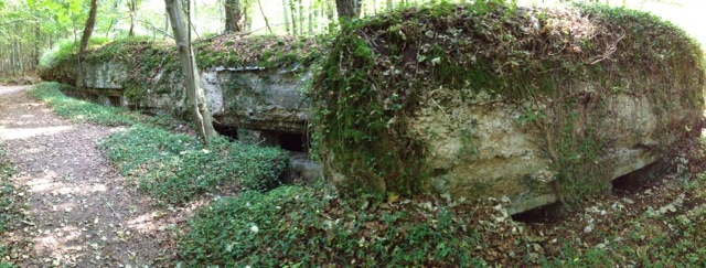 A German field hospital behind the front lines near St Mihiel